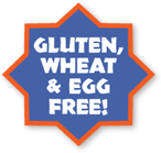 gluten, wheat and egg free